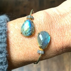 Jewelry - Labradorite Cuff Bracelet